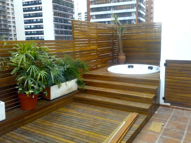 C decks p rgolas cubiertas cerramientos cercos de for Dec para terrazas